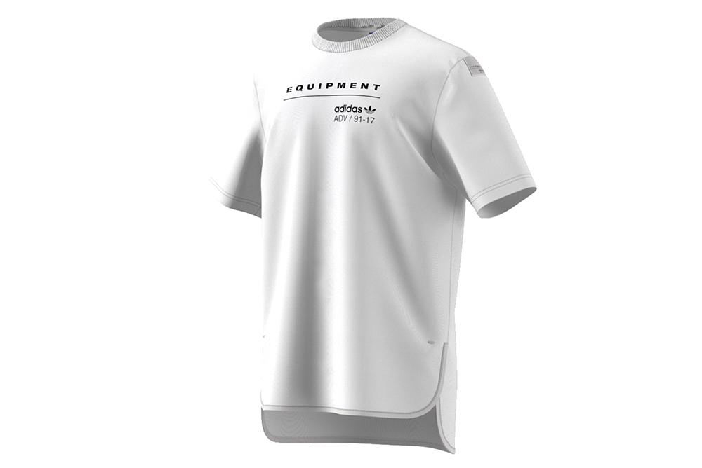 sneakers adidas camiseta eqt logo tee bk7171