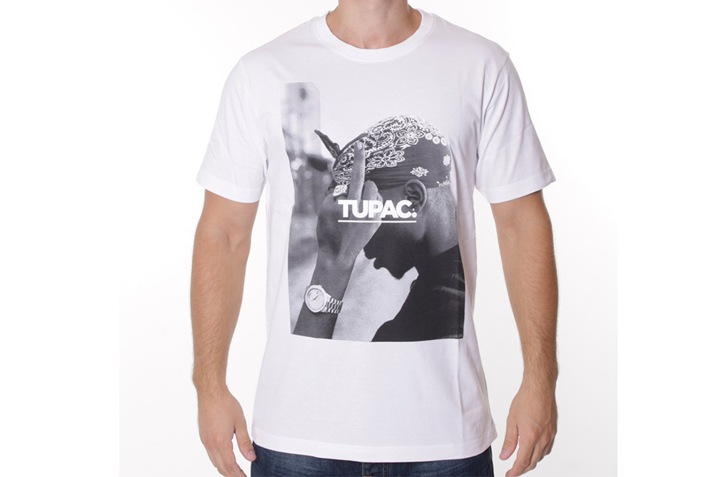 camiseta mister tee 2pac fuck the world MT315
