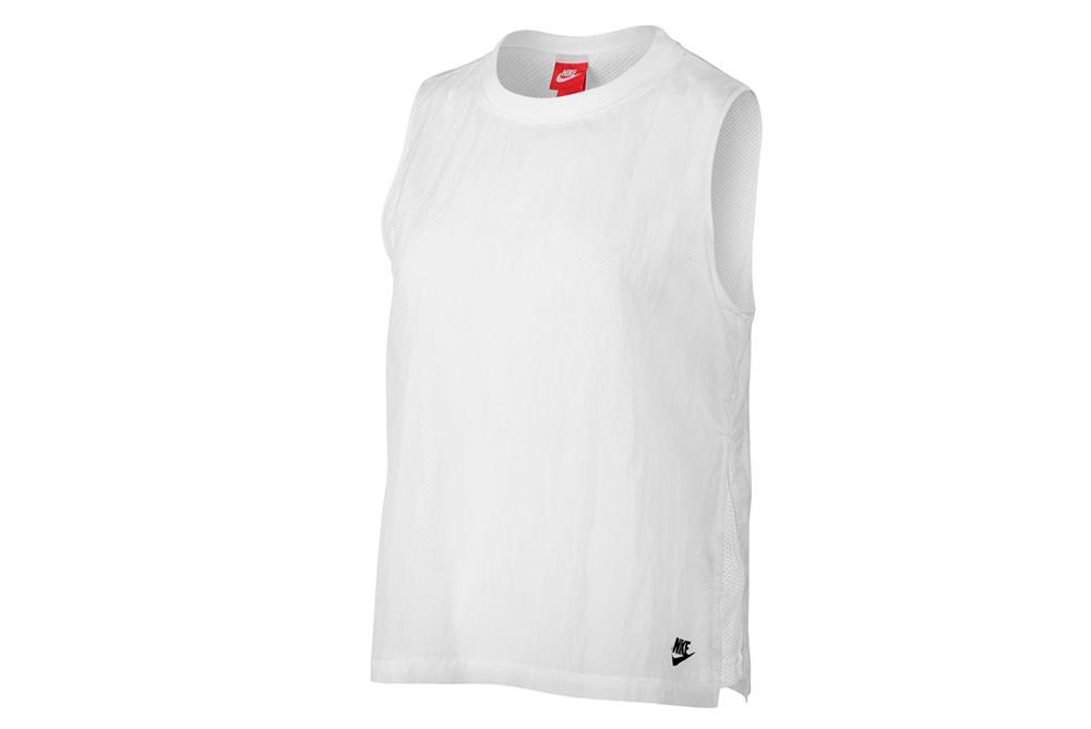 shirt nike wmns nsw tech hiper mesh tank 846447 100