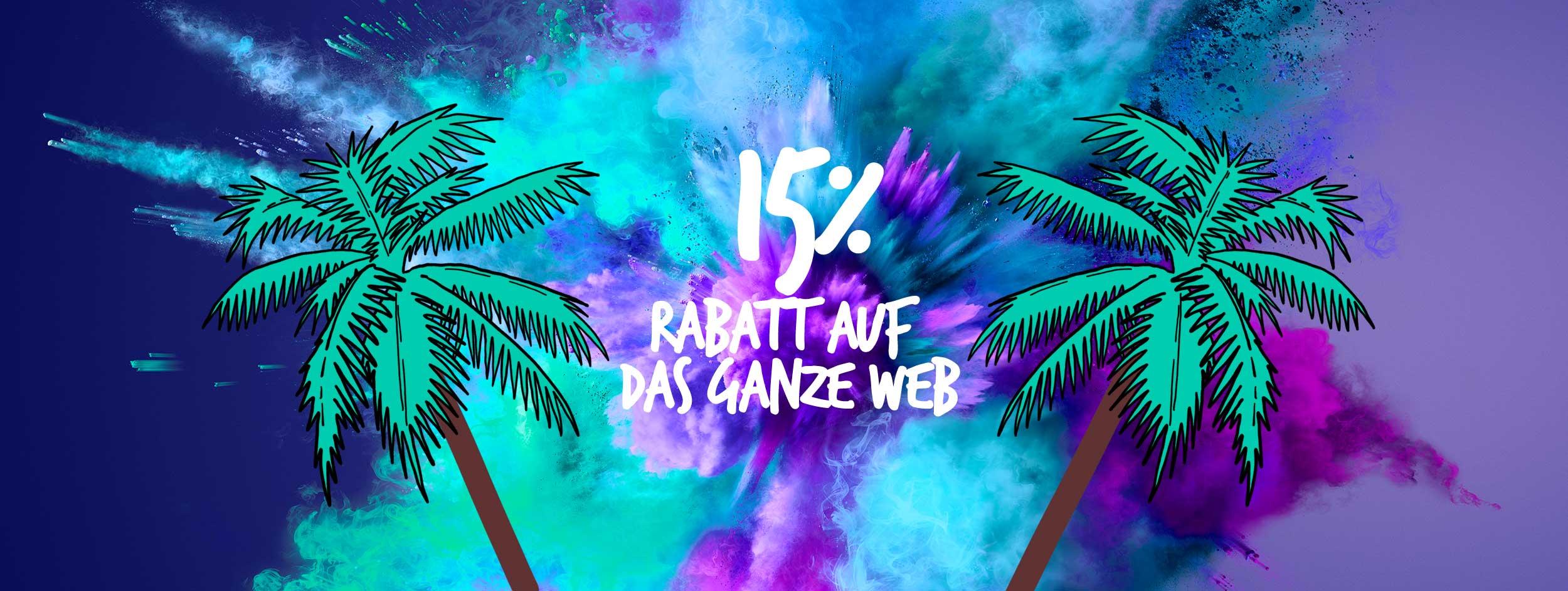 15% auf das ganze Web