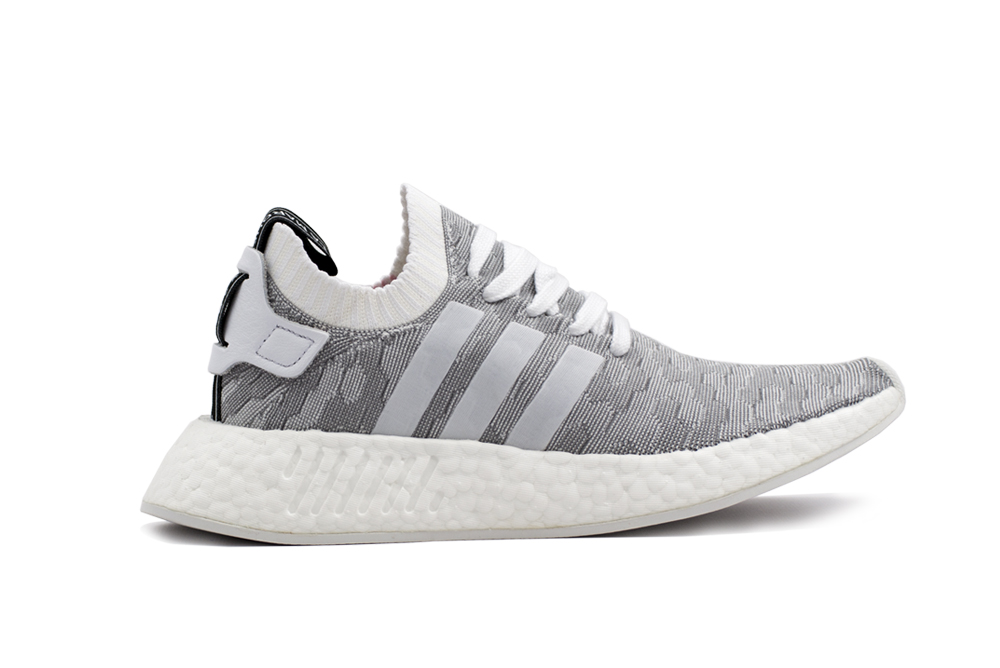 baskets adidas nmd r2 pk white gray BY9520