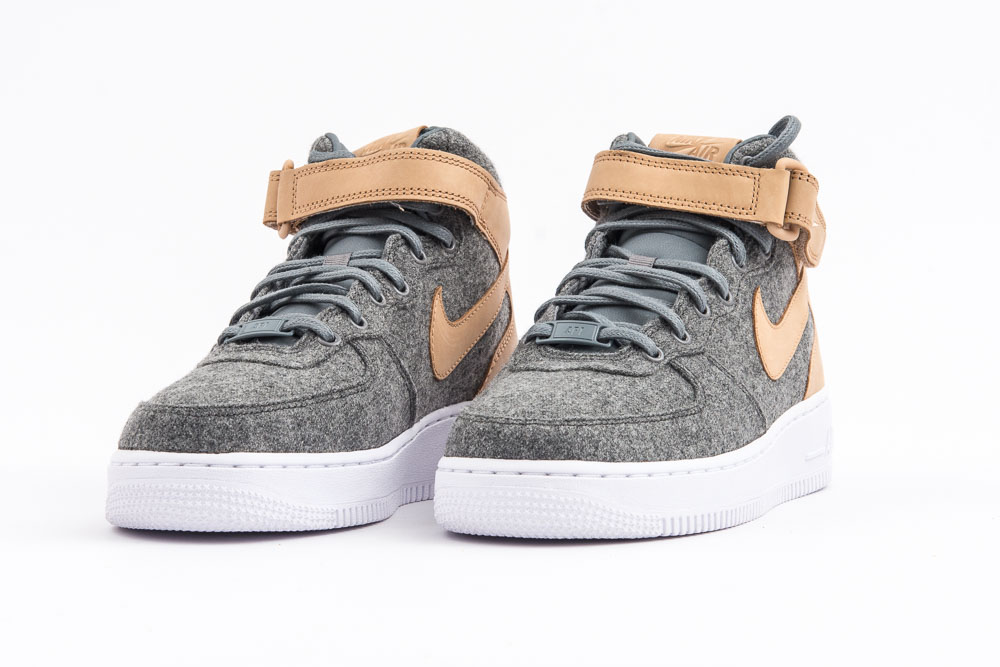 NIKE W AIR FORCE 1 07 MID LTHR PRM