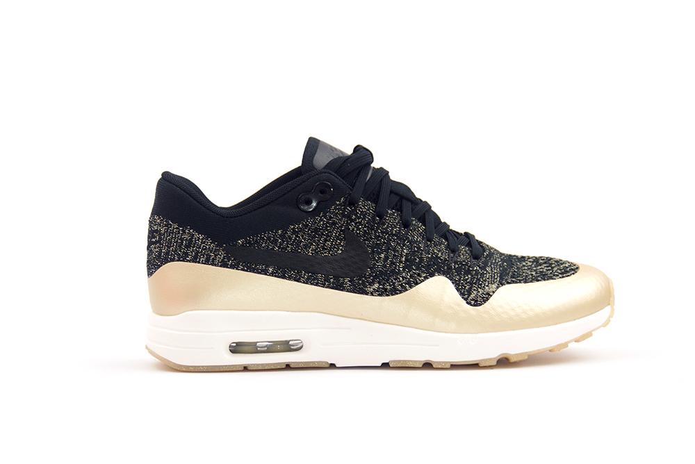sneakers nike wmns air max 1 ultra 2.0 flyknit metallic 881195 001