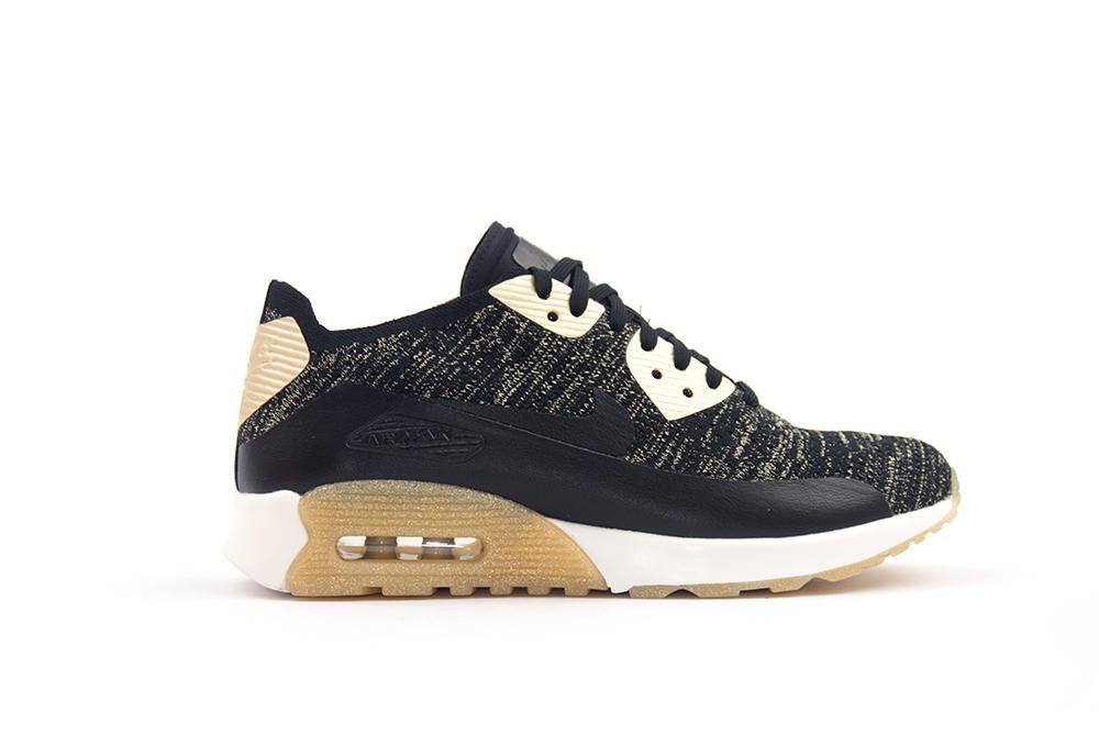 sneakers nike wmns air max 90 ultra 2.0 flyknit metallic 881563 001
