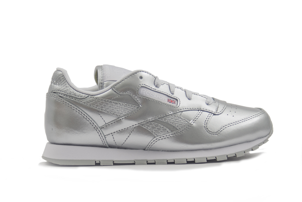 zapatillas reebok classic leather metallic BS7459