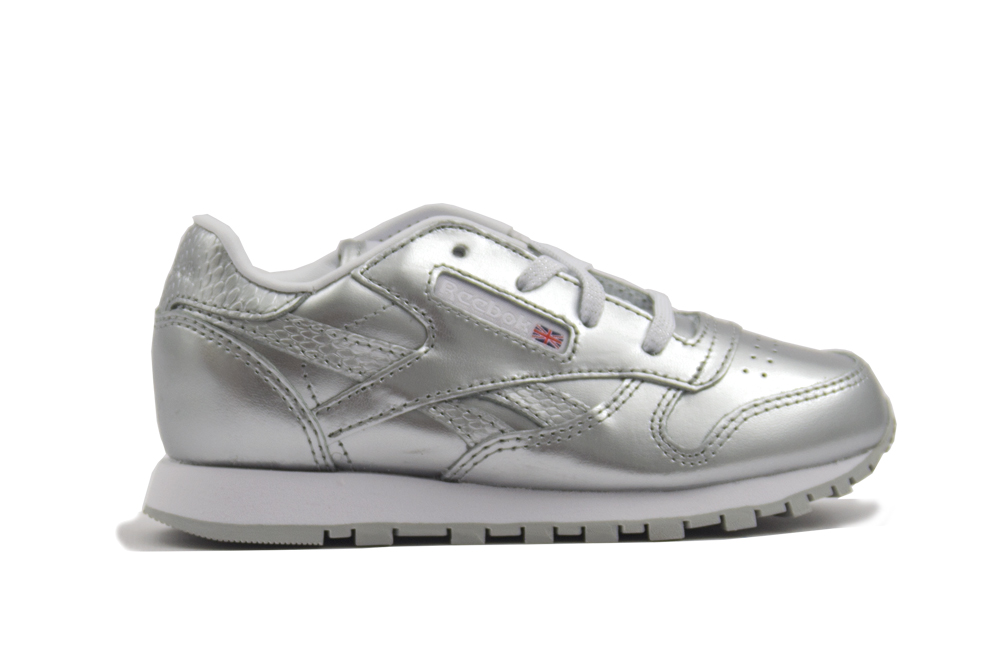 zapatillas reebok classic leather metallic BS7461