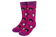 RAW SOX 8 BIT FICTION PURPLE
