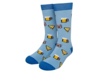 RAW SOX 8 BIT PIZZA BLUE