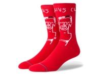 Socks Stance Basquiat Cassius M546C18BAS Brutalzapas
