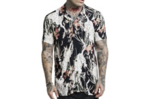 Shirt SikSilk resort shirt ss 13999 Brutalzapas