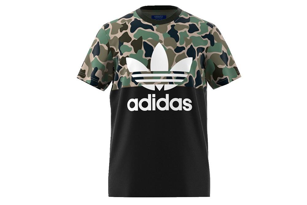 shirt adidas s-s camo color CD1696