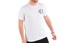 Shirt Champion crewneck t shirt 213251 wht Brutalzapas
