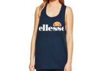 Shirt Ellesse Italia Abigaille Vest Top Anthracite Dress Blues SGS04485 Brutalzapas