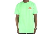 Camiseta Ellesse Italia cuba overdyed shb06831 neon green Brutalzapas