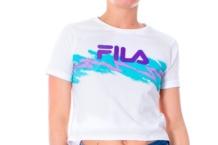 Camisa Fila cropped tee 687106 white Brutalzapas
