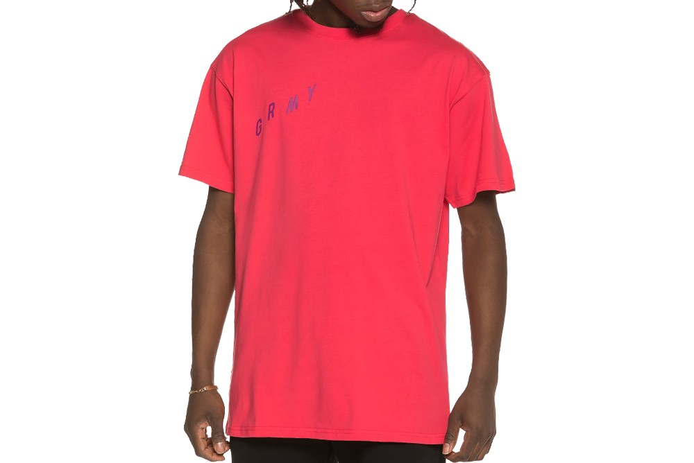 Shirt GRIMEY brick top tee ga519 red Brutalzapas