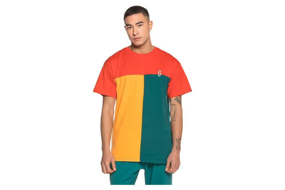 Shirt GRIMEY midnight tricolor tee ga521 Brutalzapas 30cf2783397