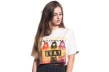 Shirt Grimey infamous crop top gactp442 Brutalzapas