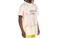 Camiseta GRIMEY laughing boy tie dye tee ga524 white Brutalzapas