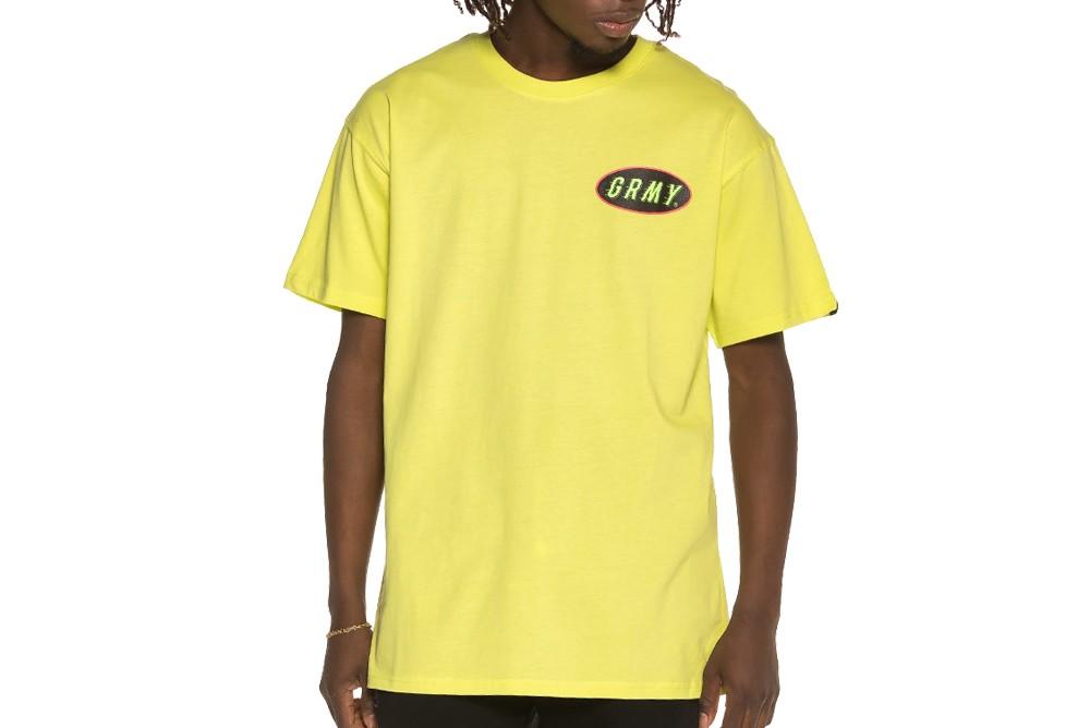 Shirt GRIMEY cooky puss tee ga533 lime Brutalzapas