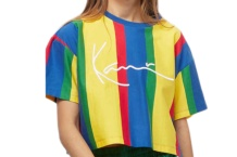 Shirt Karl Kani stripe tee 6139388 navy yellow Brutalzapas
