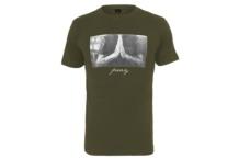 Camiseta Mister Tee Pray Tee Olive MT157 Brutalzapas