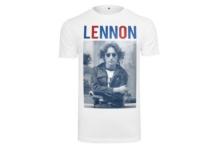 Shirt Mister Tee John Lennon Bluered Tee MT467 Brutalzapas