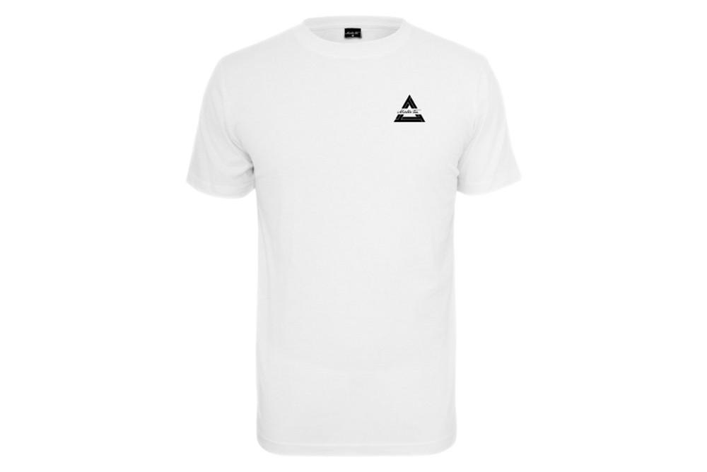 Shirt Mister Tee Triangle White MT523 Brutalzapas