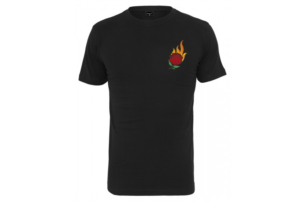 MISTER TEE BURNING ROSE TEE