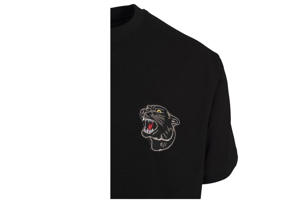 MISTER TEE EMBROIDERED PANTHER TEE