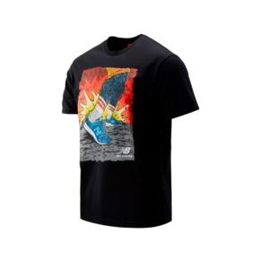 Chemise New Balance artist pk stride mt93526 black Brutalzapas