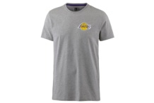 NEW ERA TIP OFF CHEST N BACK TEE LOS ANGELES LAKERS