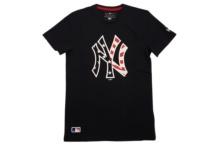 Shirt New Era Team Apparel Infill Logo Tee New York Yankees 11569445 Brutalzapas
