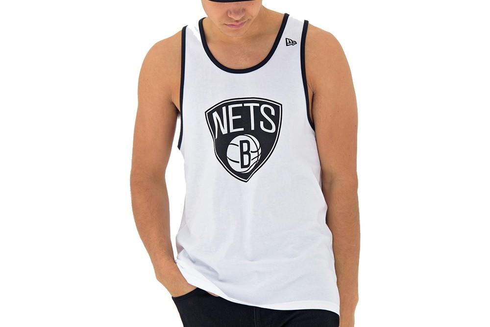 Shirt New Era Nba Team App Pop Logo Tank Brooklyn Nets 11569512 Brutalzapas