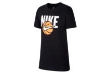 Shirt Nike B NSW Tee Bball KID AH9513 010 Brutalzapas