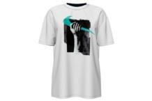 Chemise Nike m nsw tee boy fem ar5350 100 Brutalzapas