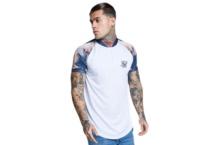 Shirt SikSilk Heron Baseball SS-13296 Brutalzapas
