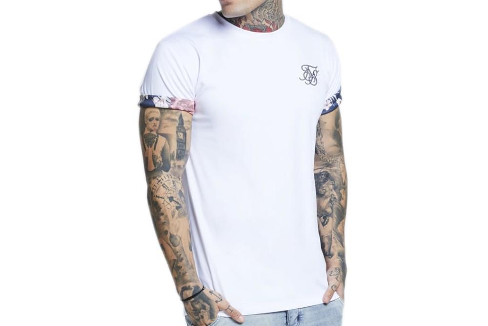Shirt SikSilk Rolled Sleeve SS-12864 Brutalzapas