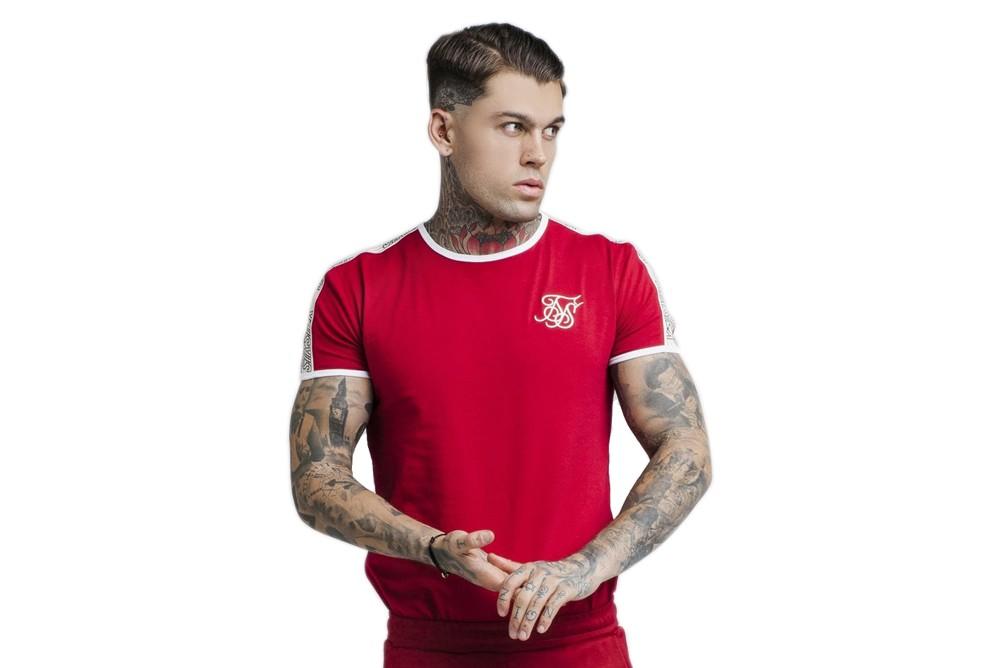 Shirt SikSilk tapped runner tee ss 14259 Brutalzapas