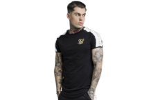 Shirt SikSilk panel gym ss 14271 Brutalzapas