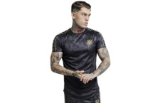 Shirt SikSilk tape trials gym ss 14289 Brutalzapas