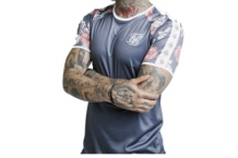 Shirt SikSilk raglan taped gym 14482 Brutalzapas