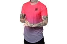Shirt SikSilk curved fade tee ss 15130 Brutalzapas