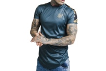 Shirt SikSilk Tapped Gym Tee ss 14483 Brutalzapas