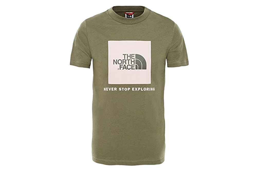 5c293f4360223 Shirt The North Face Face Box SS Kid T93BS221L - The North Face ...