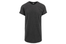Camiseta Urban Classic long shaped turn up tb1561 charcoal Brutalzapas