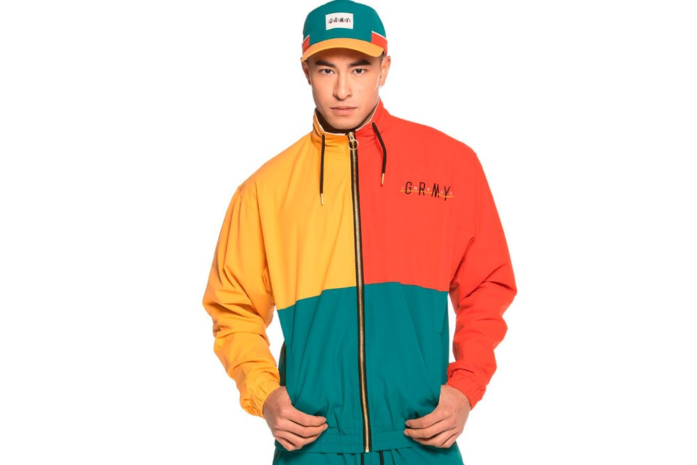 Sweatshirts GRIMEY midnight track jacket gtj148 Brutalzapas