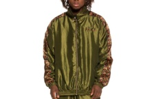 Jacket GRIMEY midnight chameleon track jacket gtj147 Brutalzapas