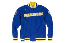 Jacke Mitchell & Ness nba authentic gs warriors 1996 97 Brutalzapas