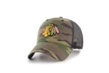 Cap 47 Brand Chicago Blackhawks H CBRAN04GWP CM Brutalzapas